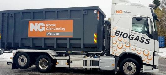 - Første LBG-krokbil på norske veier