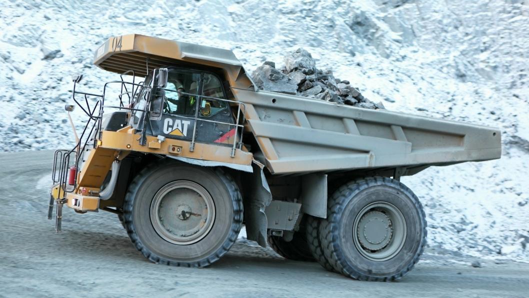 Bilde fra 2013 fra det var full aktivitet i gruven på grensen mot Russland, under eierskap av Northern Iron.