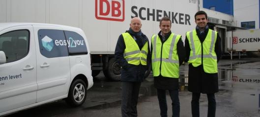 Schenker og Easy2You utfordrer Posten