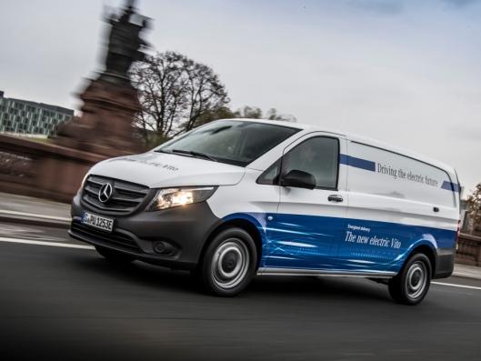 Mercedes-Benz eVito.