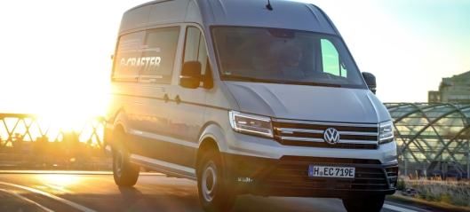 Norgespremiere for Volkswagen e-Crafter