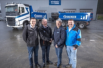 Hæhre & Isachsen Maskinutleie kjøper 40 Volvo-er