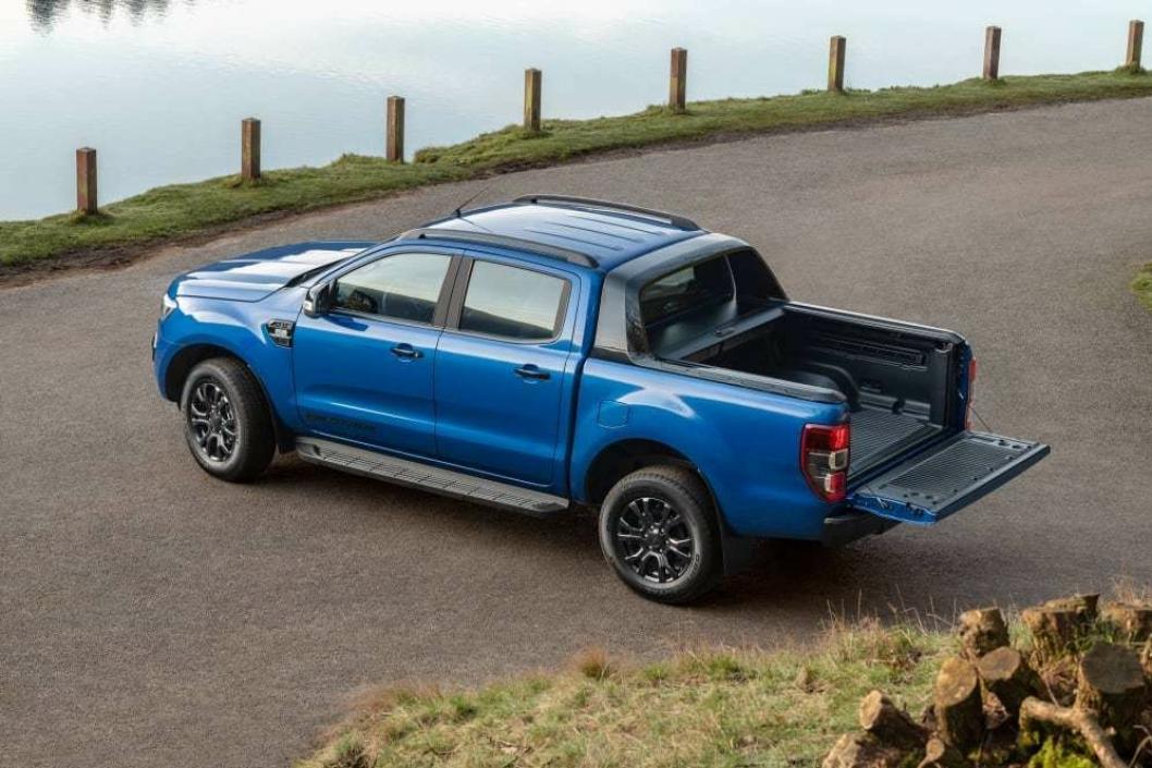 PRAKTISK: En moderne pick up er både komfortabel og praktisk.