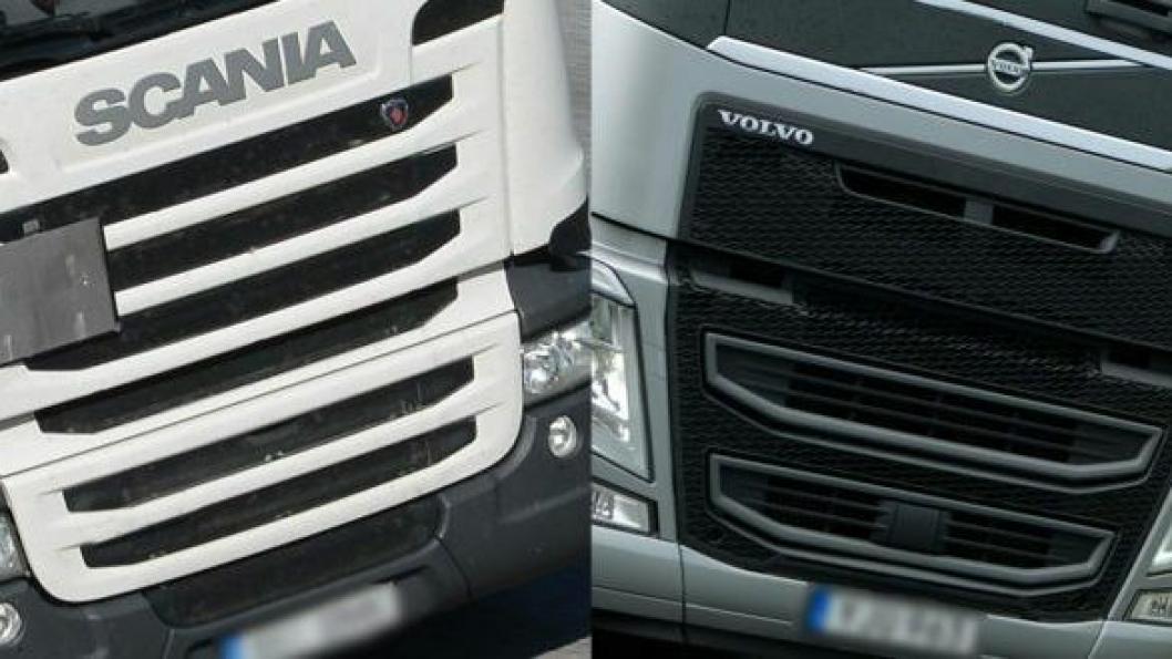 Patent-tvist mellom Volvo og Scania.