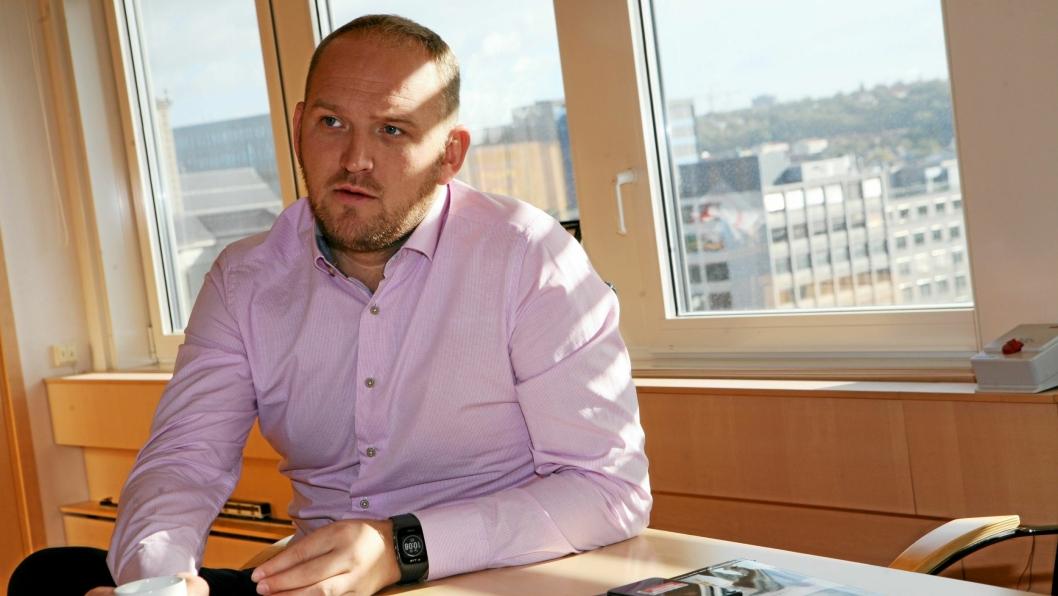 – Vi har fortsatt mye å gjøre, erkjenner samferdselsminister Jon Georg Dale. Foto: Per Dagfinn Wolden