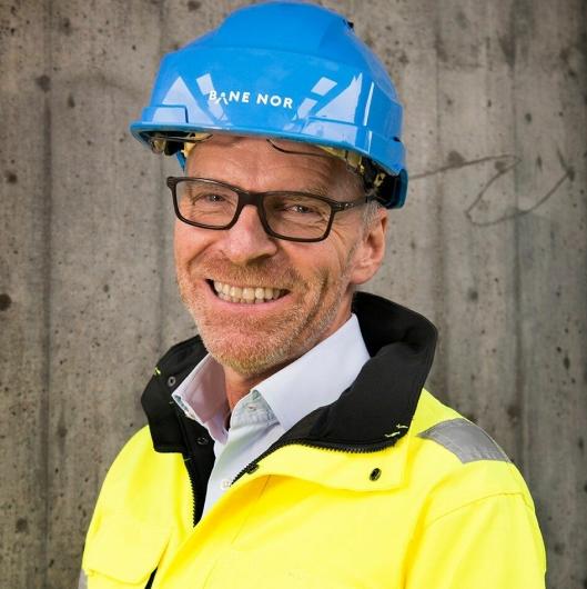 Einar Kilde er konserndirektør for Utbygging i Bane Nor.
