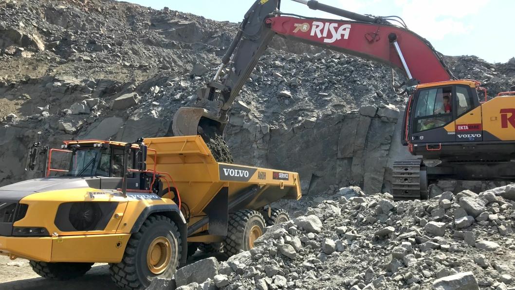 Risa fortsetter trenden med å inngå store maskinavtaler med Volvo Maskin.