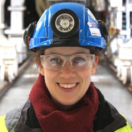 Katrine Sælendsminde Erstad er prosjektsjef for Arna-Fløen i Bane Nor.
