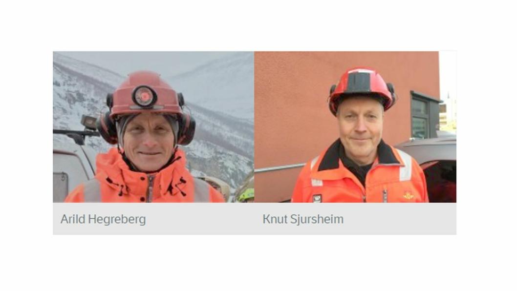 Prosjektledere i nye stillinger.