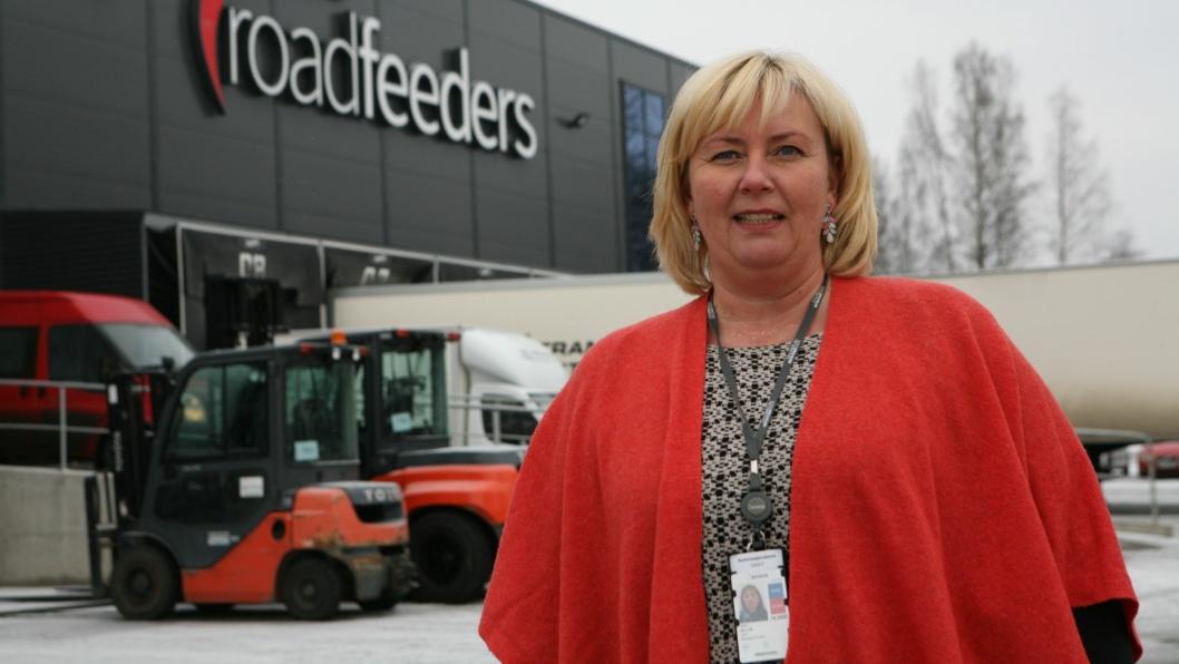Lene Mellum går inn i en ny tid som adm. direktør i nyetablerte Roadfeeders II. Foto: Per Dagfinn Wolden