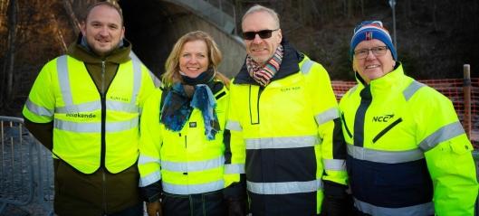 Byggestart av Intercity gjennom Eidsvoll