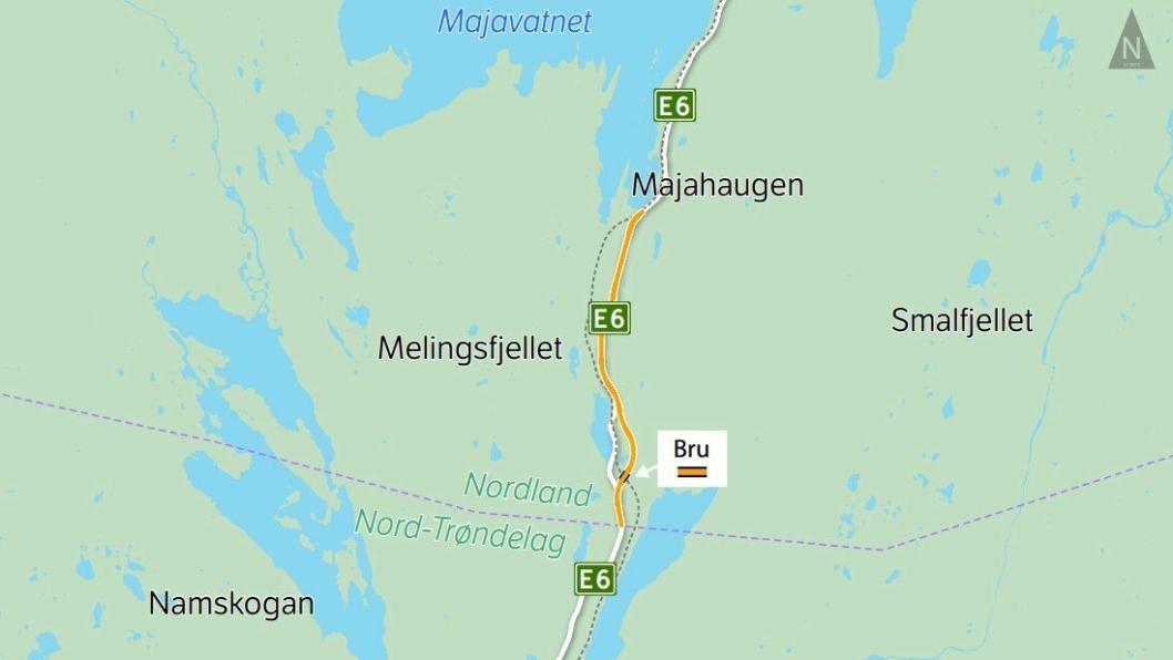 Parsell 1: Det blir ingen bygging av E6 Trøndelag grense–Majahaugen nå.
