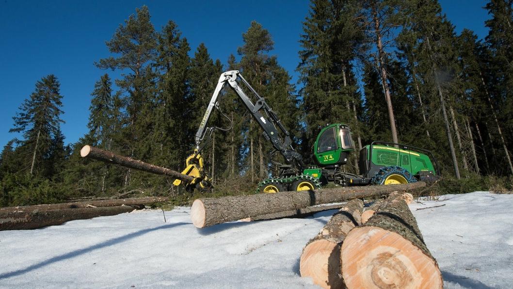 I 2019 økes midlene fra Landbrukets Utviklingsfond til skogbruk med 20 millioner kroner.
