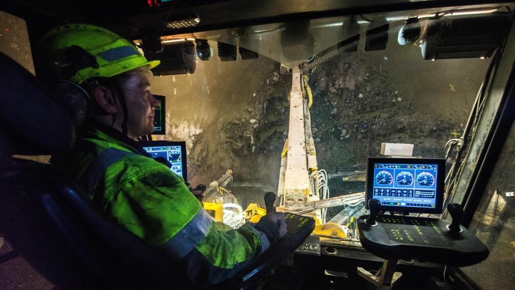 NCC ordreregistrerer den andre tunnelen på Færøyene-entreprisen, Sandoyartunnilin. Bildet er fra den pågående byggingen av Eysturtunnilin.
