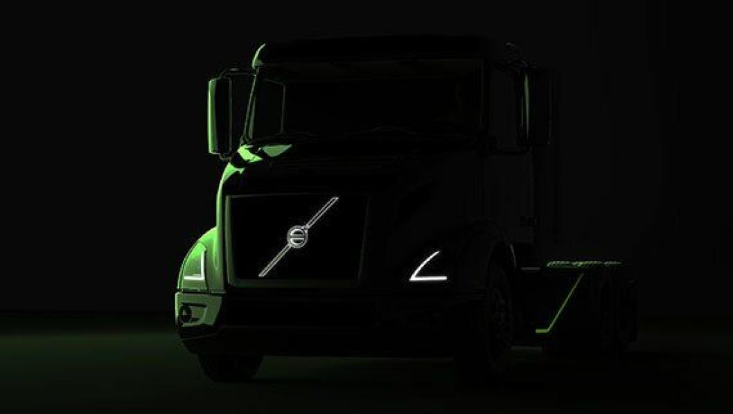 NOE SPENNENDE: Volvo har sluppet disse bildene av noe spennende som kommer.