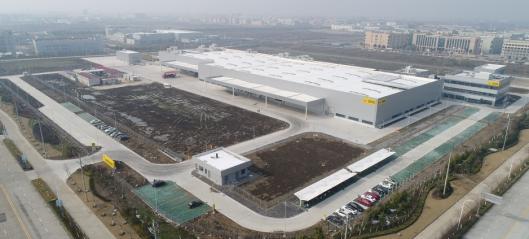 Wacker Neuson klar i Kina