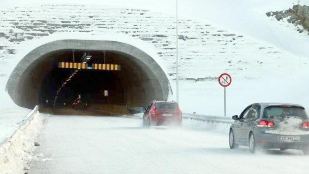 Sørkjostunnelen på E6 i Troms er ferdig bygget av Skanska og tatt i bruk.