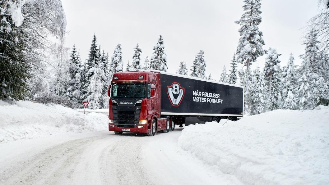 KLART: I uke 4 tar Norsk Scania de første gjestene på det niende Scania Winter arrangement.