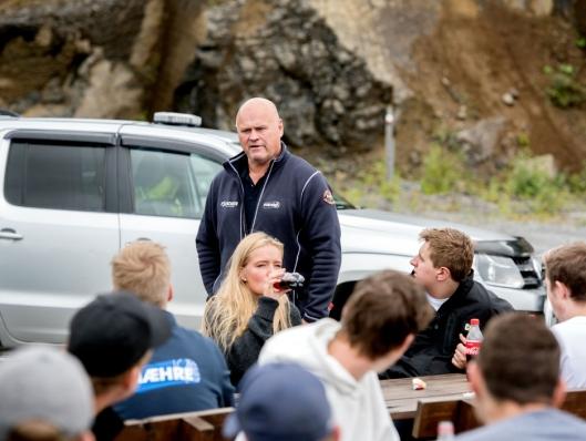 BRENNER FOR DE UNGE: Albert Kr. Hæhre brenner for de unge i bransjen, og for å gi de som ønsker seg inn i bransjen en mulighet.