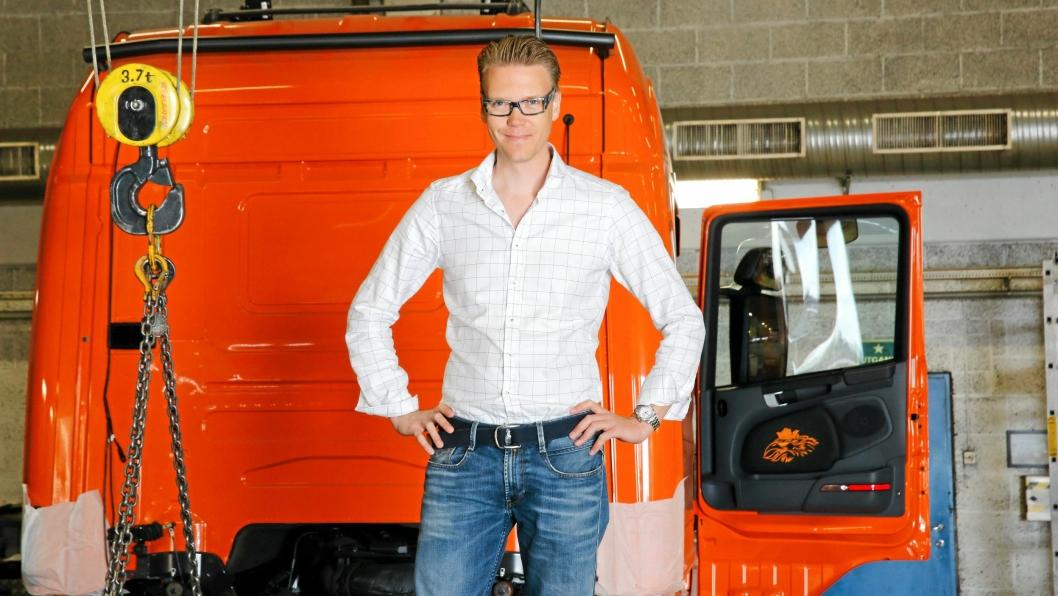 Tom Erik Spartveit har sluttet som daglig leder i Nor Slep for å jobbe i en annen bransje.Han fortsetter som styremedlem i selskapet. Bilde fra 2015.