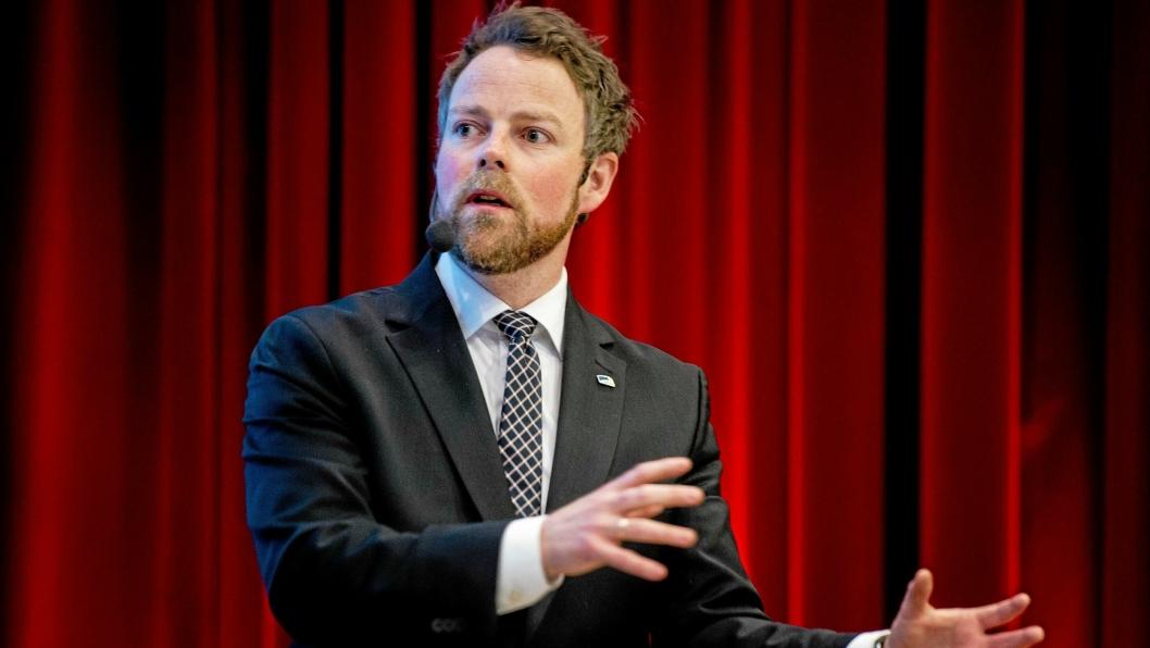Direktoratet for mineralforvaltning er et av våre viktigste redskap, sier næringsminister Torbjørn Røe Isaksen.