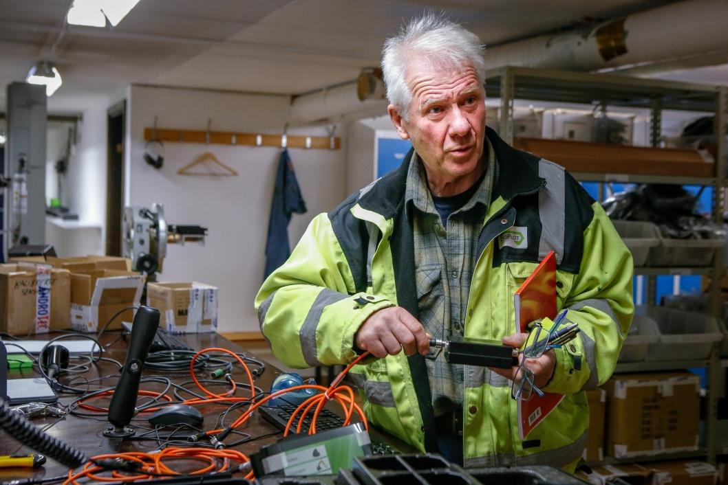 DigPilot blir både utviklet og produsert hos det tradisjonsrike firmaet Gundersen & Løken i Oslo. De helnorske anene gjør daglig leder Jan Floberg ekstra stolt av produktet.