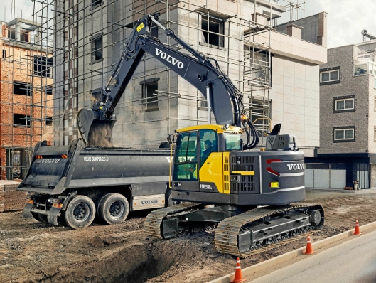 Hæhre & Isachsen Maskinutleie AS har inngått en avtale med Volvo Maskin AS om levering av 33 nye Volvo anleggsmaskiner. Blant disse er det 11 stk. ECR235EL gravemaskiner.