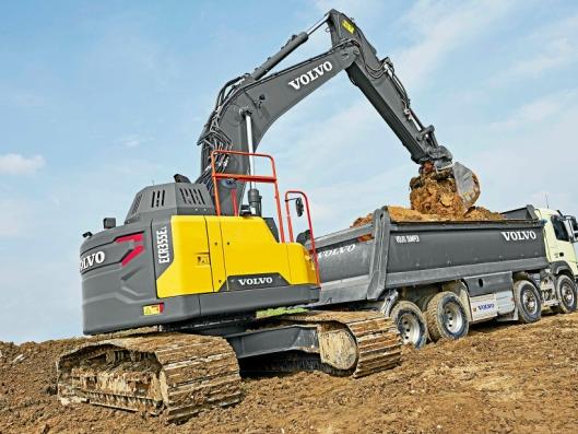 Hæhre & Isachsen Maskinutleie AS har inngått en avtale med Volvo Maskin AS om levering av 33 nye Volvo anleggsmaskiner. Blant disse er det 5 stk. ECR355EL.