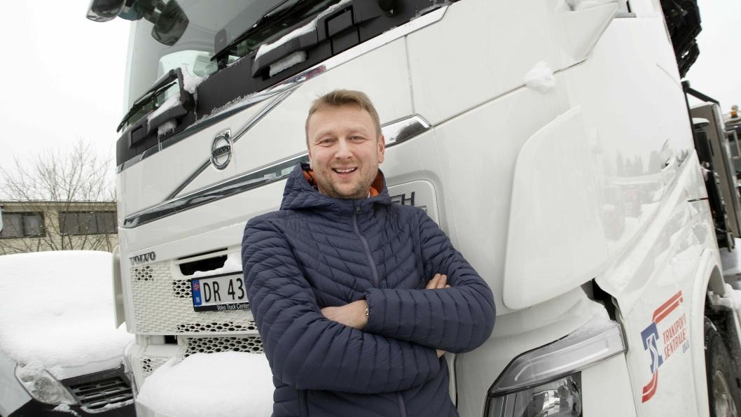 - Vi skal fortsatt være den foretrukne lastebilleverandøren i Norge, sier Waldemar André Christensen i Volvo.