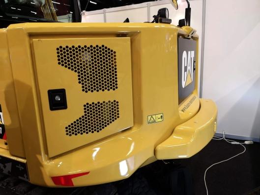 Nye Cat 307.5 er litt annerledes i formen enn man er vant til på Cat-gravemaskiner.