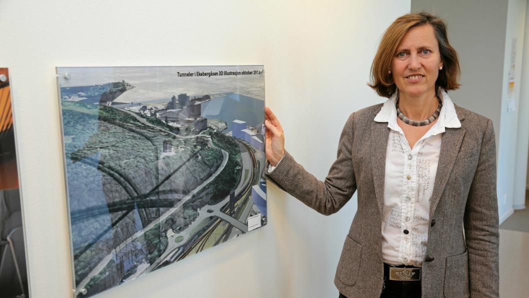 Det ble utarbeidet detaljplaner for bygging av tunnelene med to alternative drivemetoder, både konvensjonell sprengning og bruk av TBM, skriver Anne Kathrine Kalager, prosjektleder Tunnel TBM på Follobane-prosjektet hos Bane Nor, i et svar til Albert Kristian Hæhre.