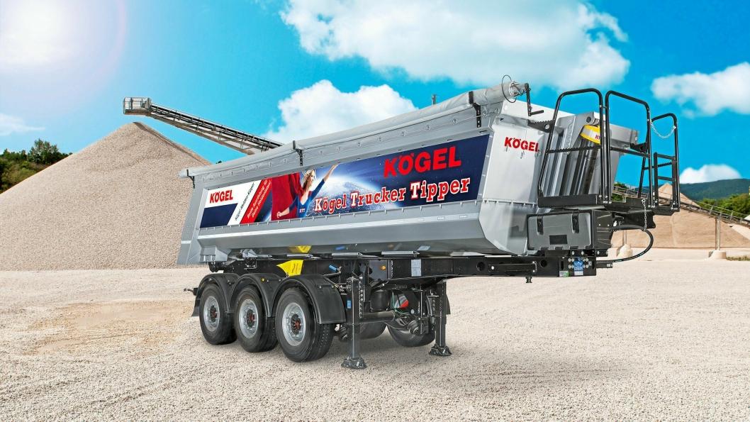 BRUKERVENNLIG: Kögel Trucker Tippers (KTT) er Kögels hovedtrekkplaster på årets Bauma.