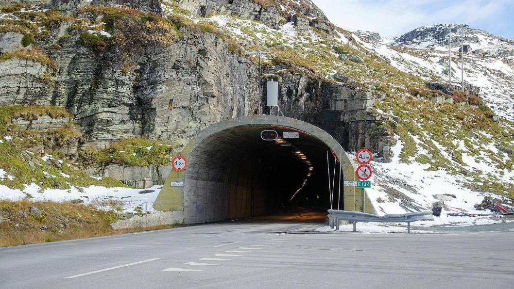 Haukelitunnelen på E134 i Odda kommune blir ikke oppgradert i 2019 som først planlagt.