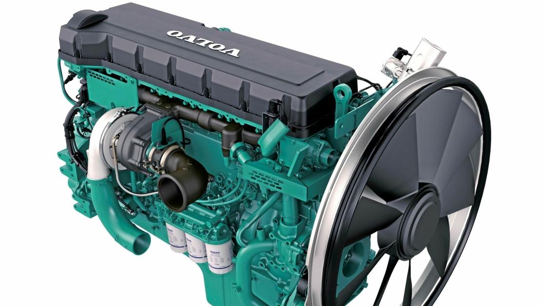 SAMSPILL: Volvo Penta legger stor vekt på at motor og eksosetterbehandlingssystem skal jobbe sømløst sammen.