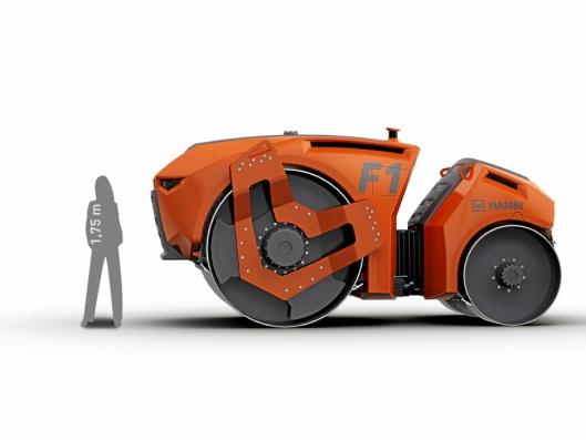 FREMTIDEN: Hamm har på «tegnebrettet» konstruert sin første førerløse valse. Den har allerede vunnet to designpriser.