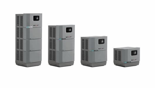 LADELØSNINGER: Giant med ladeløsninger for flere batteripakker som skal holde til drift fra 4-8 timer.
