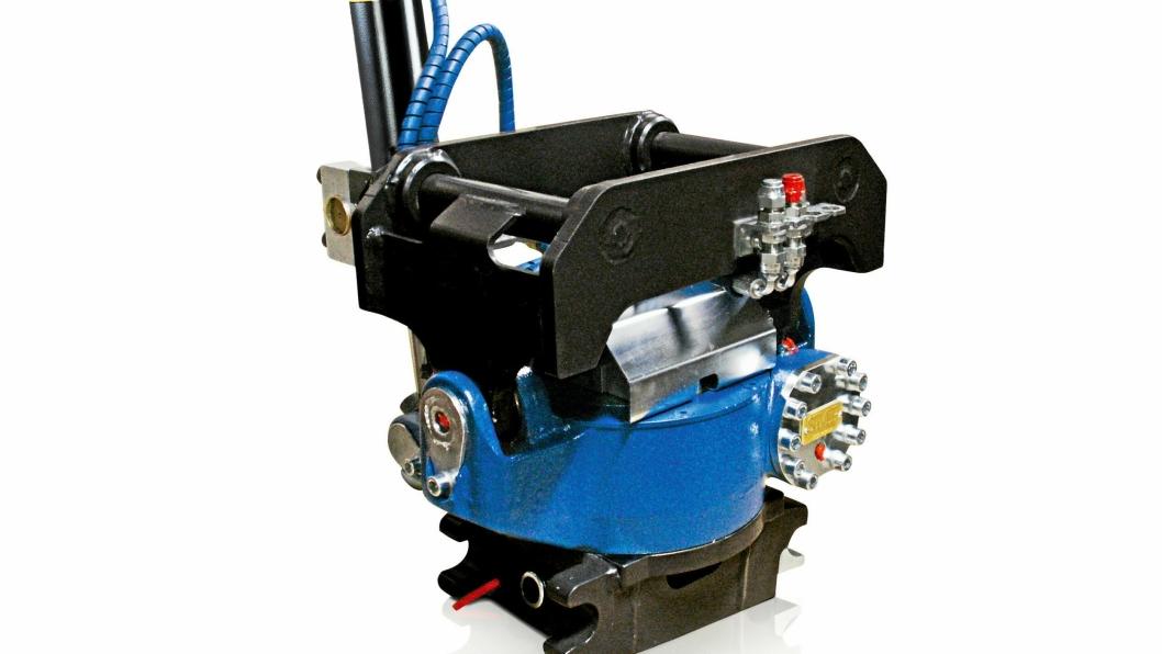 NY TILT: ST4 blir den minste tiltrotatoren fra SMP, og er utviklet for minigravere fra 1,8 tonn til 4 tonn.