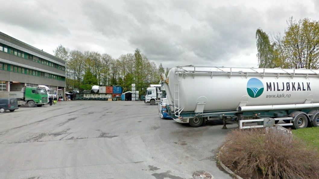 Bilde fra Franzefoss-konsernets hovedkontor i Olav Ingstads vei i Bærum. Foto fra 2017.