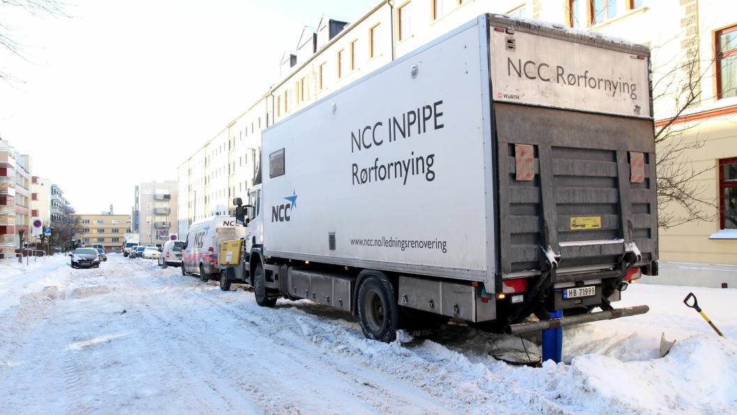 NCC har inngått kontrakt med Oslo kommunes om gravefri renovering av kommunale avløpsrør.