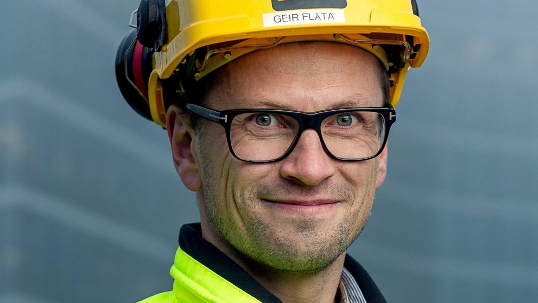Geir Flåta, ny konserndirektør i AF Gruppen.