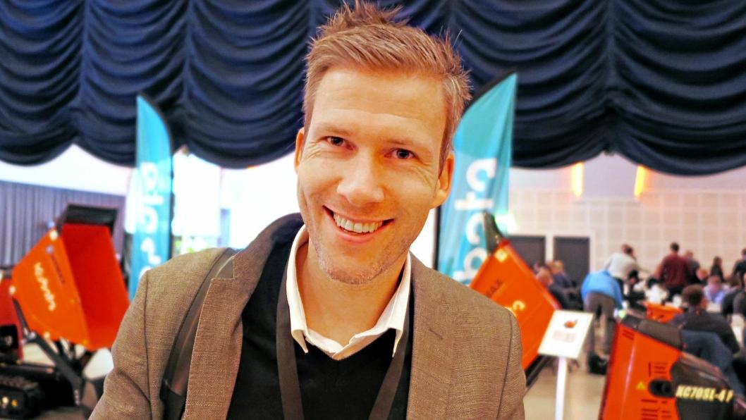 Knut Rindal, daglig leder i MyLift Holding.