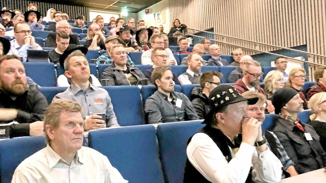 Betongfagdagen 2019 hadde rekordstore 110 deltakere i betonghovedstaden i nord, Narvik.