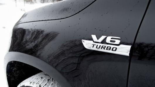 V6: Kombinasjonen V6 og turbo kler X-klasse bedre.