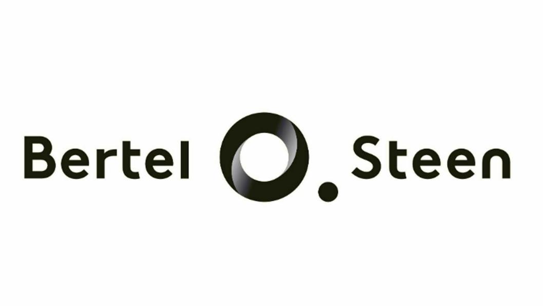 NY LOGO: Slik ser den nyAe logoen til Bertel O. Steen ut.