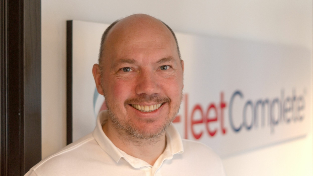 Gisle Andreassen, Partner Account Manager, Fleet Complete Norge.