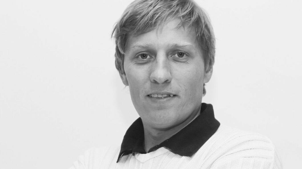 Redaktør Klaus Eriksen.