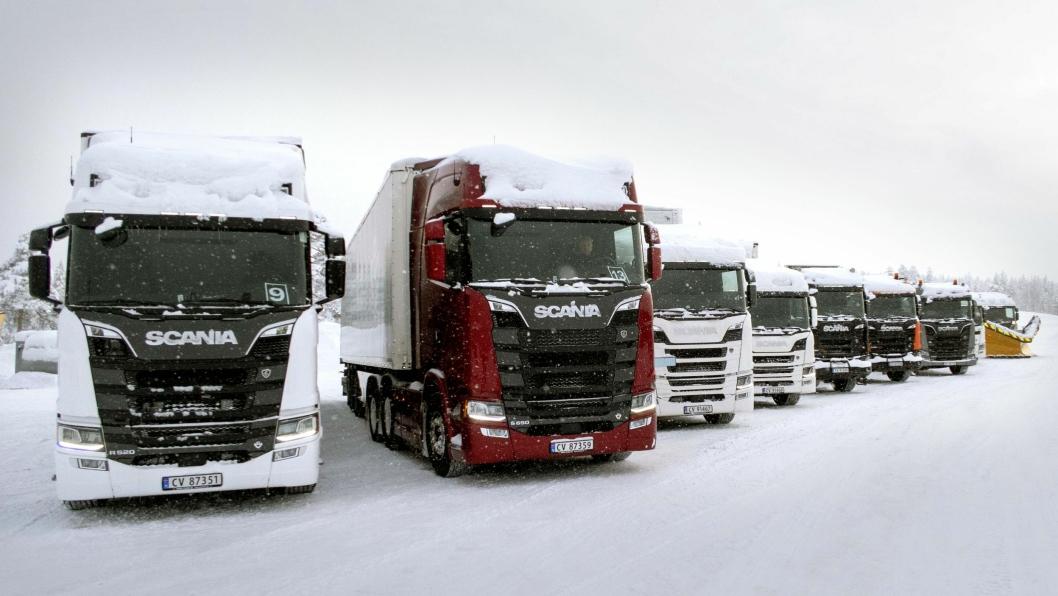 Bilde fra Scania Winter 2019.