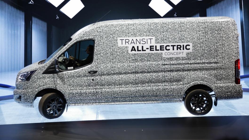 Elektrisk 2-tonns Transit blir etter planen lansert i løpet av 2021.