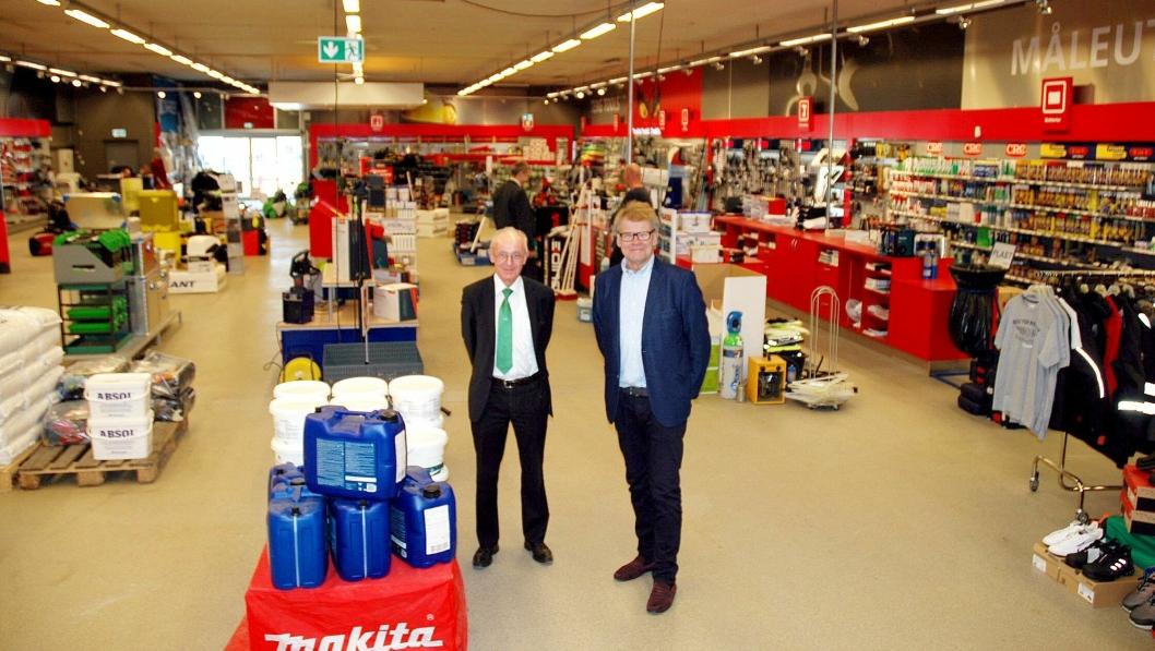 Fra venstre: Erik Jølberg, Tess og Jan Barve, Industri-fokus.