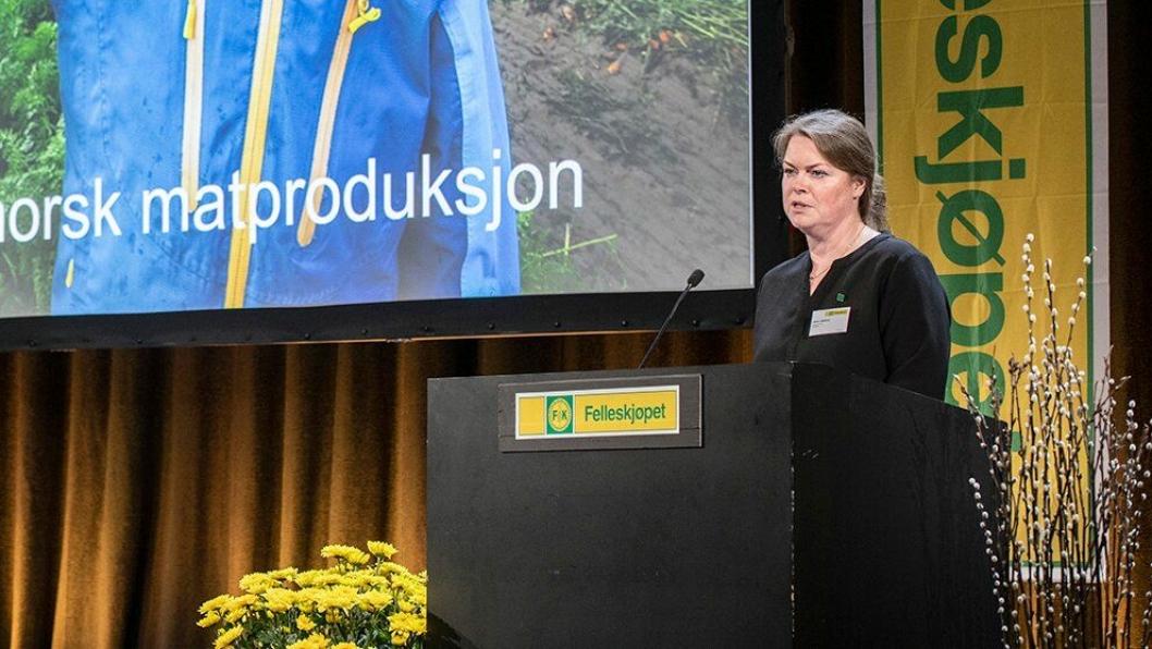 Anne Jødahl Skuterud er gjenvalgt som styreleder i Felleskjøpet Agri.